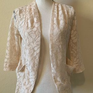 Material Girl Lace Jacket